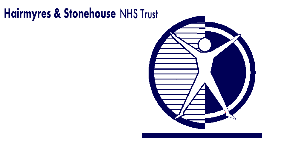 Logo of the Hairmyres Hospital, West of Scotland