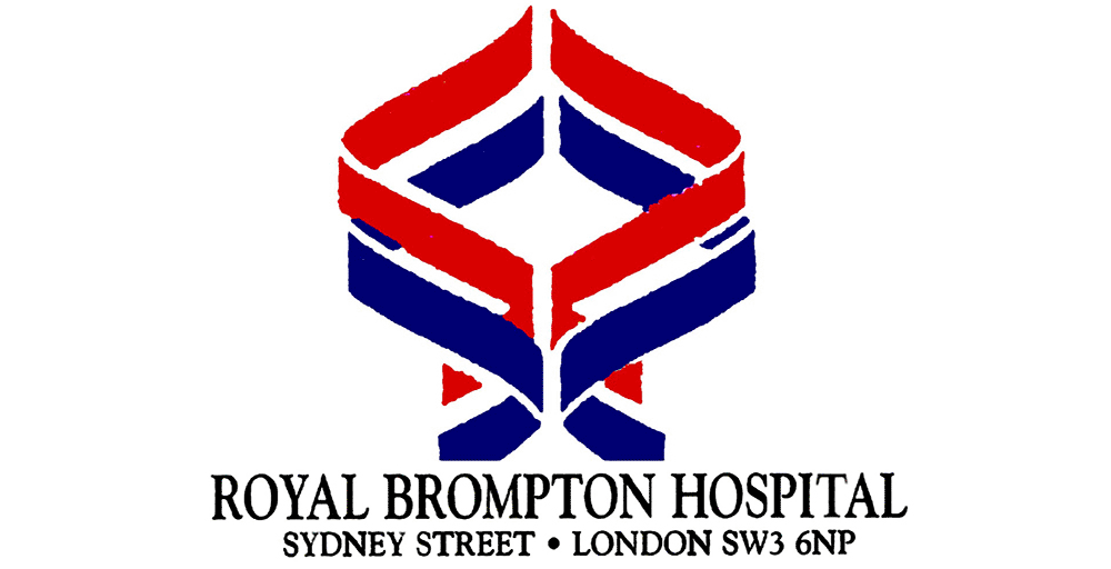 Logo of the Royal Brompton Hospital
